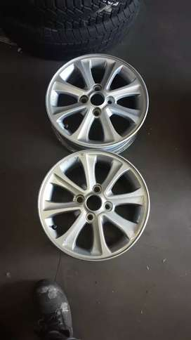 Mag rims respray/ paint or polish from R1200 a set.