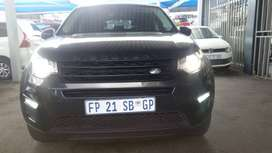 2018 Land Rover Discovery 2.0 Engine Capacity with Automatic