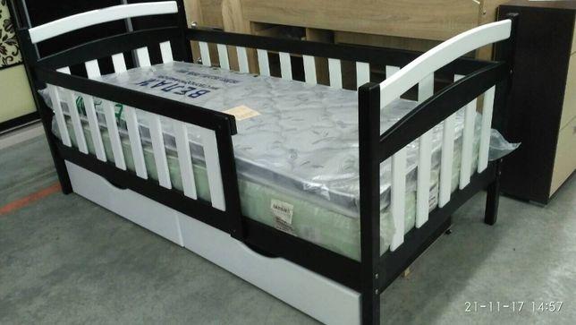 Детская кровать Карина из ольхи. Доставка Новая Почта 230грн. Без п/о. Черкассы - изображение 1
