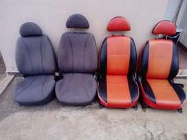 2x sets of front seats