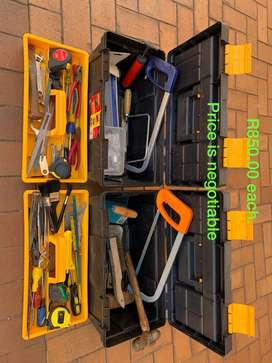 Fully Equipped Tool Boxes