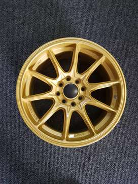 15 inch gold rim's with a multi PCD.