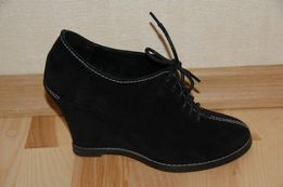 Туфли замшевые на танкетке Carevallinni Essericci, 36 размер,