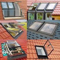 Мансардные окна ,Окна в крышу и не только