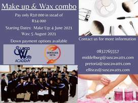 Make - Up and Wax Combo Course