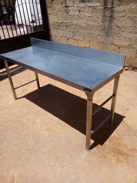 1.8m stainless steel catering tables