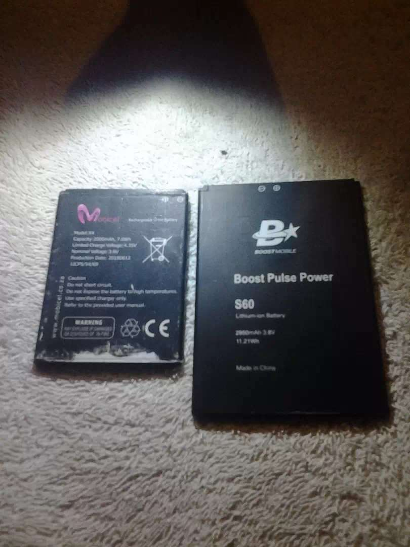 Cellphone batteries for mobicel x4 n boost mobile