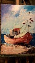 Картина Море, холст масло, 50х70 см
