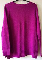 Wygodny różowy sweter