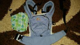 Эрго рюкзак Love&Carry (Слинг-рюкзак) +доп. накладки и расширитель