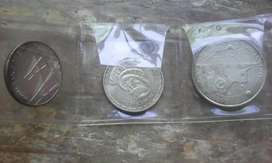Three rare silver coins  from Portugal as per image.
