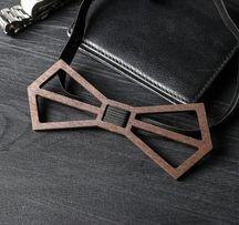 Деревянныая бабочка галстук, Краватка-метелик деревянна