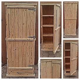 Kitchen Cupboard Farmhouse series 1900 with 1 door and drawer - Raw