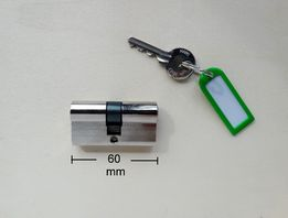 Corbin цилиндр замка с ключом (Италия) личинка двери замка 30х30мм