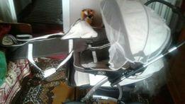 Дитяча коляска двійна