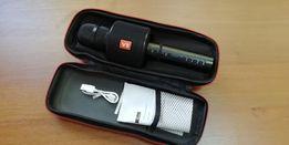 Микрофон караоке с bluetooth V8 с чехлом