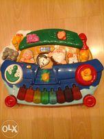 Развивающая игрушка музыкальное пианино chicco.