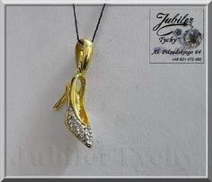 Złoty wisiorek BUCIK, SZPILKA, BUT ze złota złote buty Jubiler Tychy