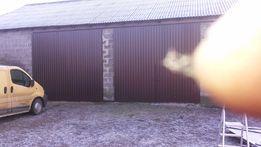 Drzwi,brama,wrota do stodoły lub wiaty pod wymiar!