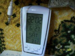 Часы будильник электронный с подсветкой