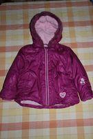 Демисезонная куртка с карманами рост 86см. Германия.