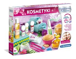 CLEMENTONI KOSMETYKI Naukowa Zabawa ZESTAW Laboratorium Kosmetyczne