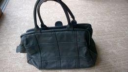 duża torba skórzana- kufer