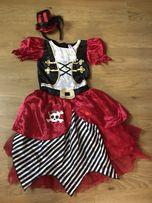 Карнавальное платье Пиратки на 8-10 лет