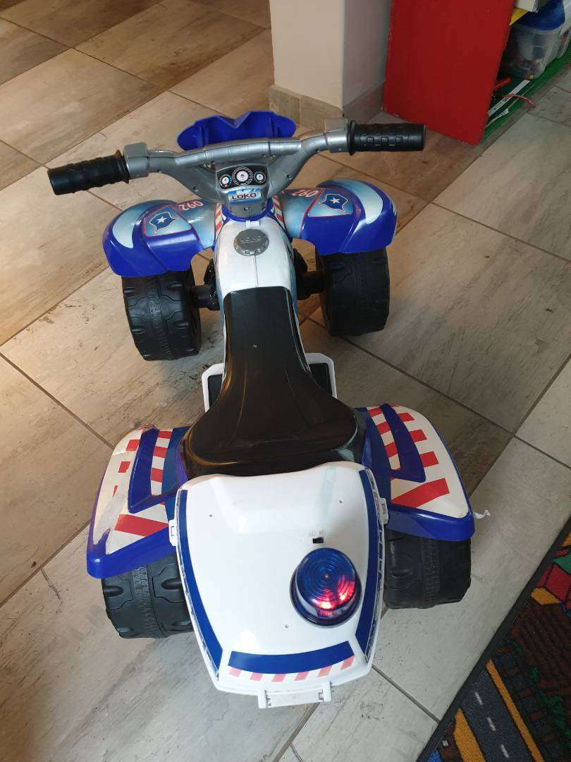 Electric toy quad bike for kids 0