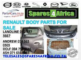 Renault body parts for sale