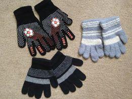 Шапки перчатки детские.