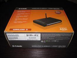 Модем, роутер D-Link DSL-2600U + ПОДАРОК