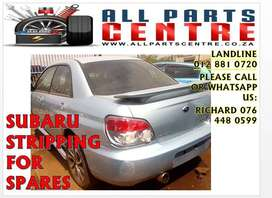 Subaru stripping for spares