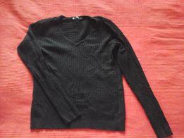 Sweter czarny MANGO