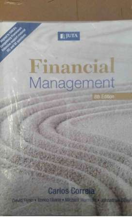 Financial Management - Carlos Correia Textbook for sale 8th edition