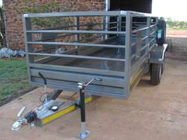 5m x 1.5 m Double axle Utility with Brakes