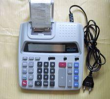 Калькулятор настольный с печатающим 2-х цветным принтером.AURORA PR170