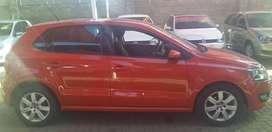 POLO 1.6 FLAMING RED 2013 MODEL