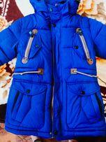 куртка- парка зимняя для мальчика подростка