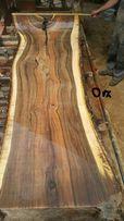 Dąb orzech włoski drzewo blaty na stoły monolit drewniane blaty Wood