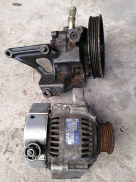 20v Oem Alternator plus Power steering pump