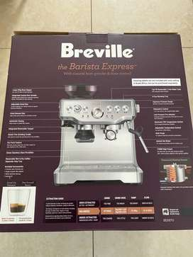 Breville Barista Express from @home New from 2020 with Accessories