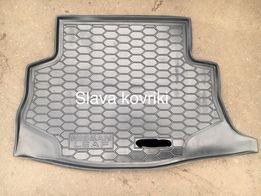 Ковер в багажник Nissan Leaf 2010-2017,коврик ниссан лиф,нисан лиаф