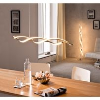 Lampa wisząca POLINA LED 9142-55 Paul Neuhaus Nowoczesna nad stół wysp