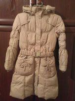 Продам пуховичек - пальто на девочку
