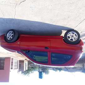 Opel Corsa Sport, 2002 model,1.6i fuel ejector, Red in colour