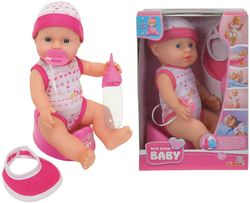 New Born Baby Bobas funkcyjny 30 cm akcesoria