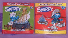 Książeczki dla dzieci - Smerfy. Poznajemy zawody swiata