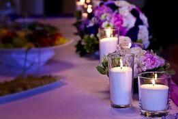 Белый воск насыпные свечи для свадебной церемонии 10кг+10фитиль -590гр