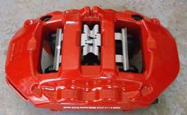 Porsche brake calipers 2 piston to 8 piston